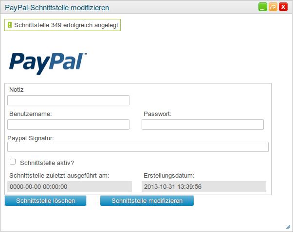 paypal einrichten schweiz